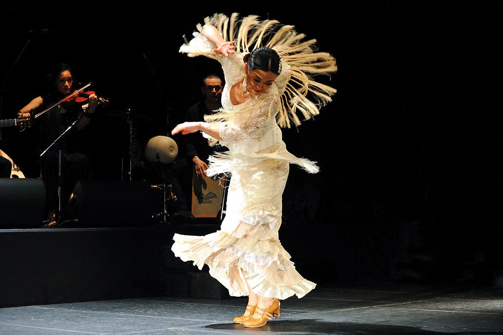 """フラメンコライブ「森田志保Flamenco live """"ねじ7""""」"""